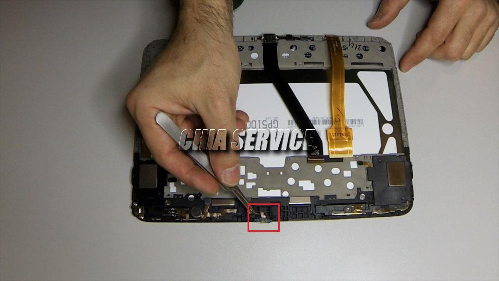 Samsung Tab 3 Estrazione Sensore