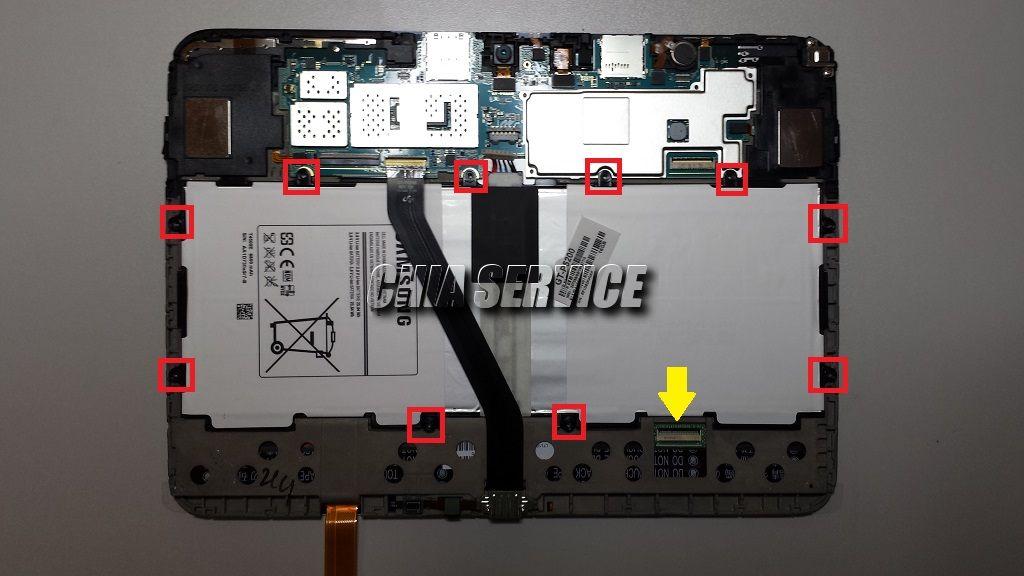 Samsung Tab 3 Rimozione Batteria