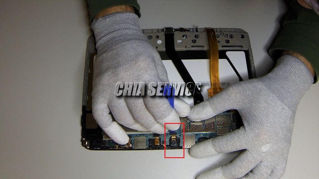 Samsung Tab 3 Rimozione Camera Frontale
