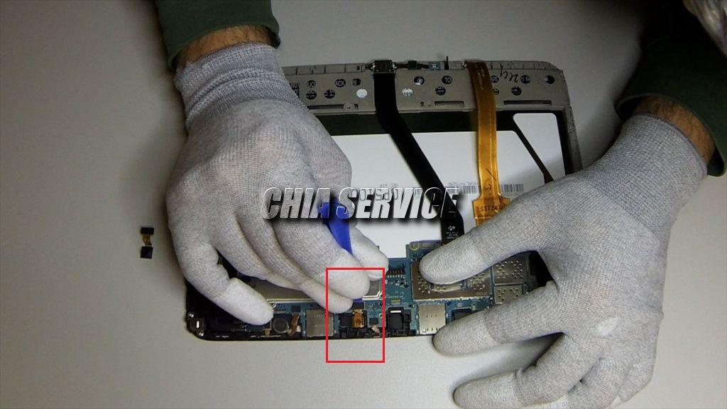 Samsung Tab 3 Rimozione Camera Posteriore